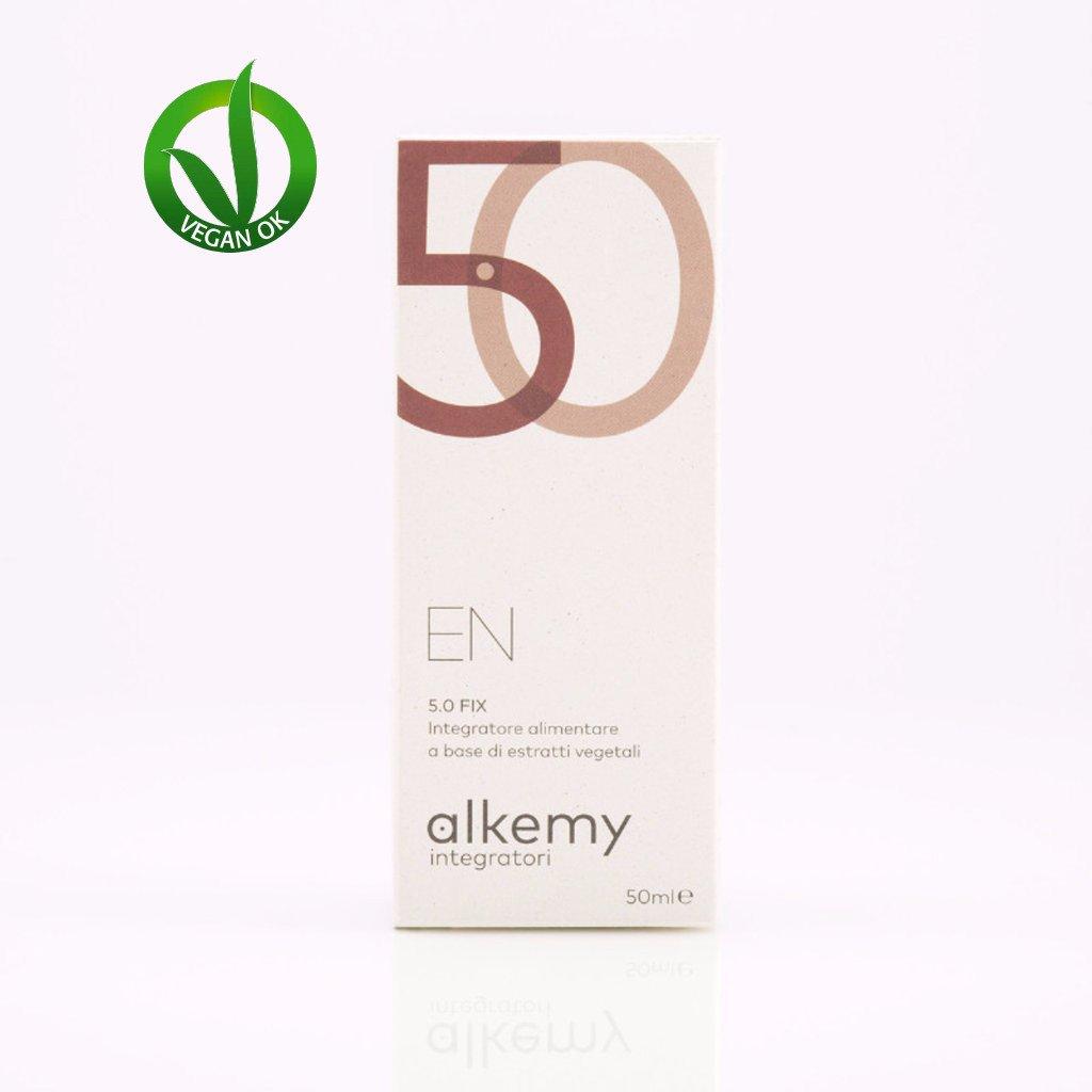 EN 5.0 FIX - Integratore con Cedro del Libano-Noce e Segale ad azione Purificante - Alkemy