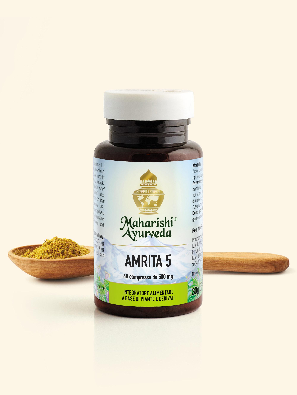 Amrita 5 Antiossidante Naturale - Maharishi Ayurveda