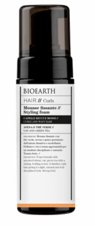Bioearth Hair Mousse Fissante