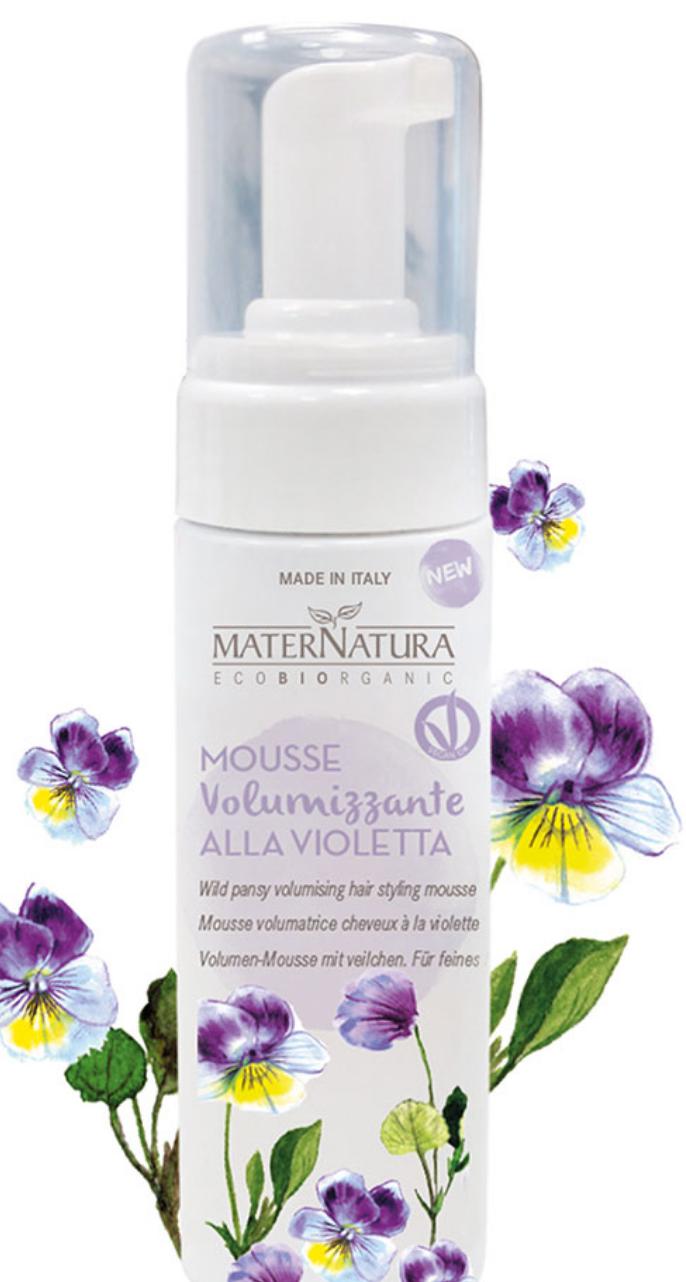 Mater Natura Mousse Volumizzante Capelli