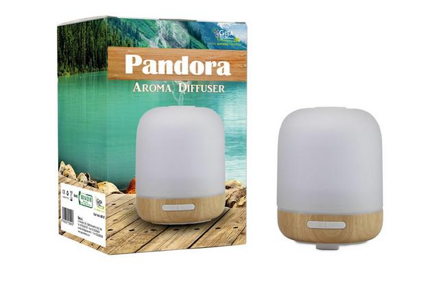 Pandora Diffusore per Ambiente in Legno e Vetro
