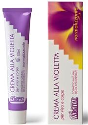 Crema Viso e Corpo alla Violetta Bio - Argital