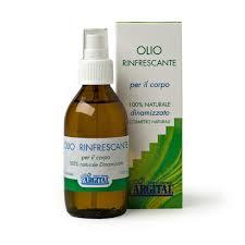 Olio Rinfrescante per il Corpo Bio - Argital