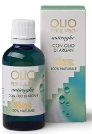 Olio per il Viso Antirughe con Olio di Argan e Rosa Mosqueta Bio -Argital
