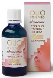 Olio per il Viso Sbiancante con puro Olio Essenziale di Rosa - Argital